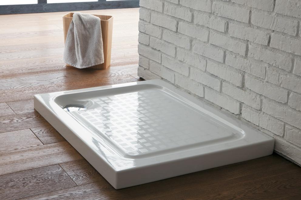 Piatto doccia h6 ceramichemichelediprima - Piatto doccia in resina o ceramica ...