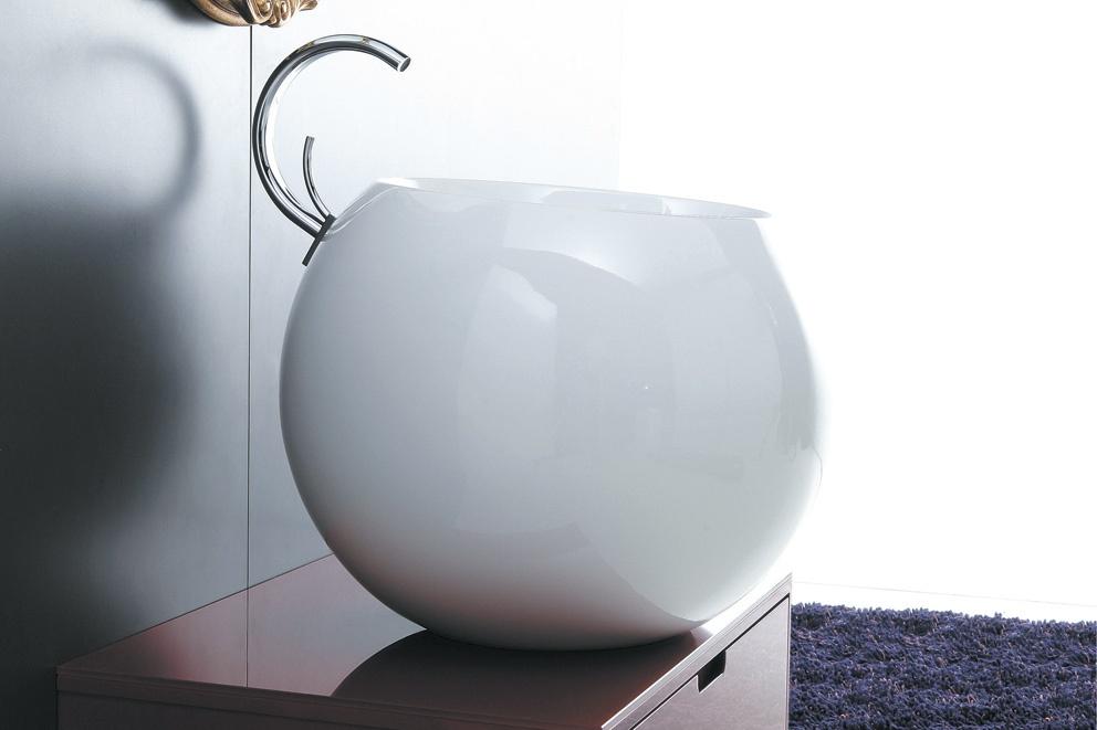 Disegno Ceramica Serie Sfera.Lavabo Da Appoggio 56 Serie Sfera Ceramichemichelediprima