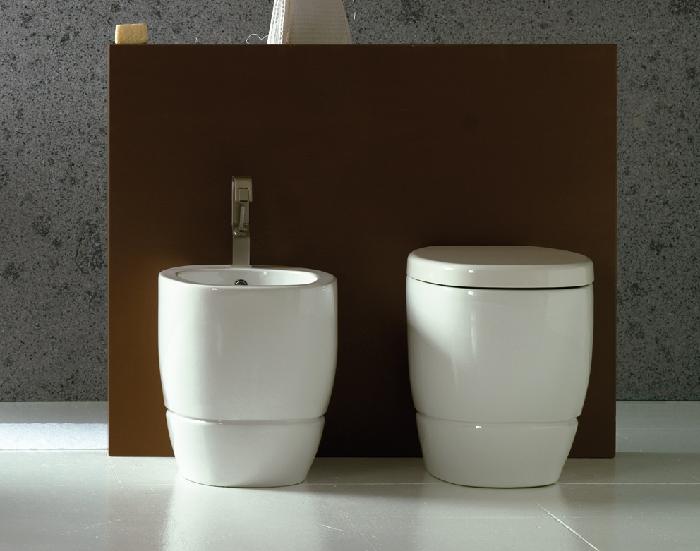 Vaso e bidet serie tratto a terra ceramichemichelediprima - Oggetti ceramica design ...