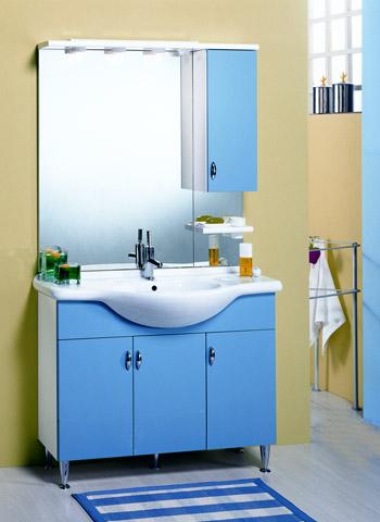 Lira 1040 blu progetto idea stella ceramichemichelediprima - Mobili bagno blu ...