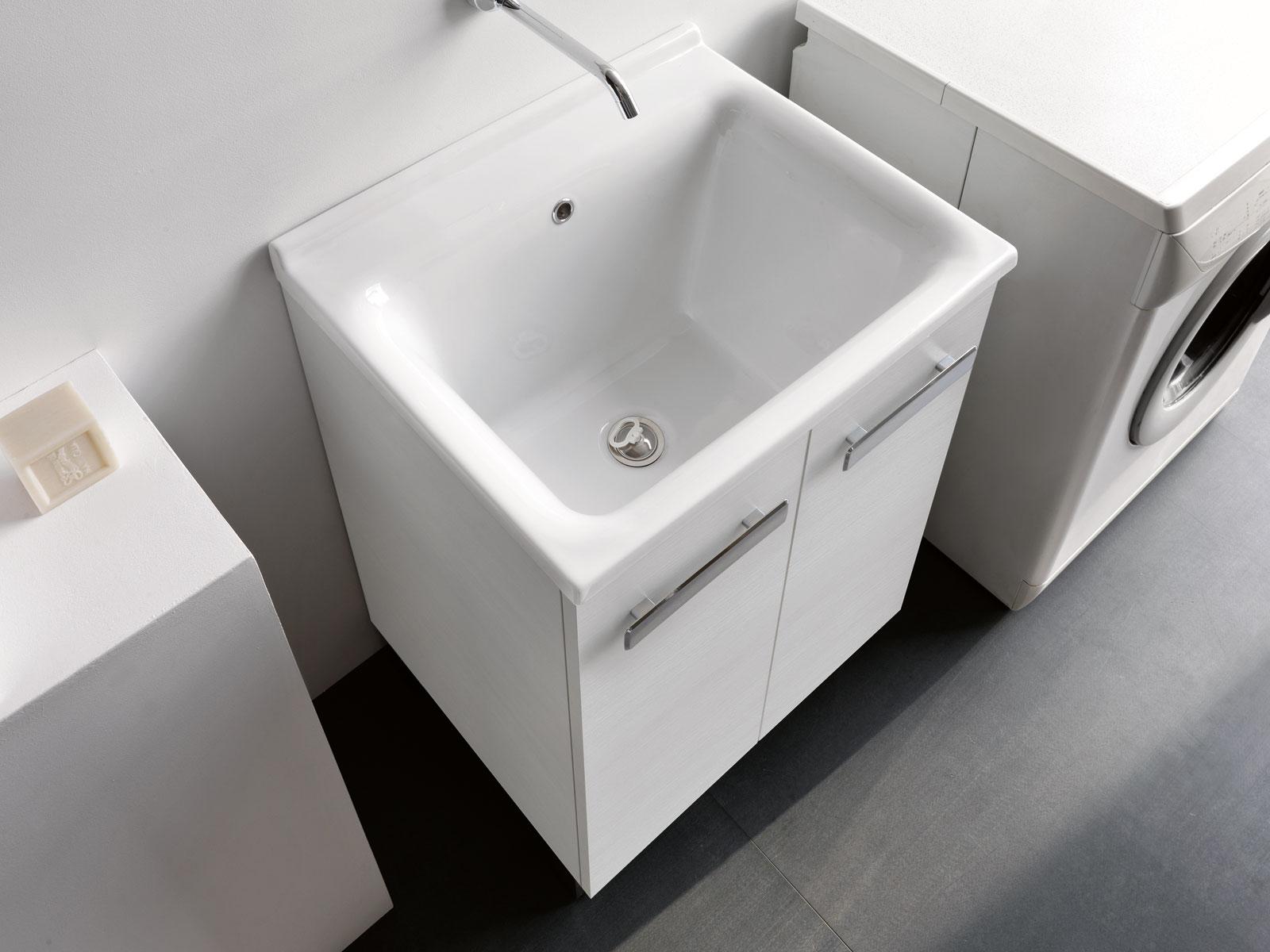 Mobili lavatoio con lavatoio in ceramica Sanitari bagno