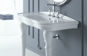Lavabo a consolle serie Paolina