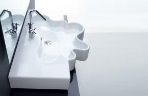 Consolle con vasca centrale Splash